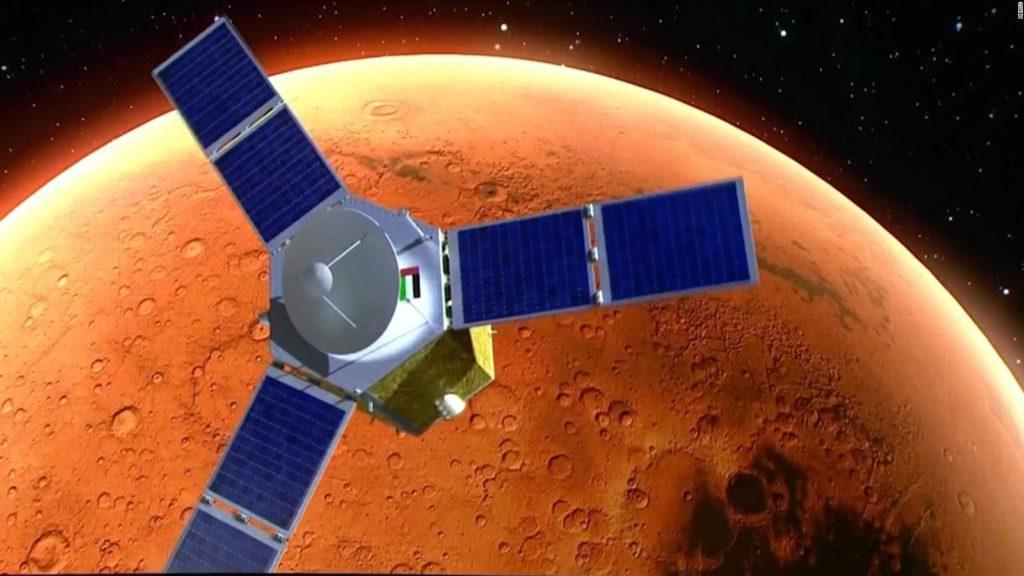 Hope misión árabe a Marte