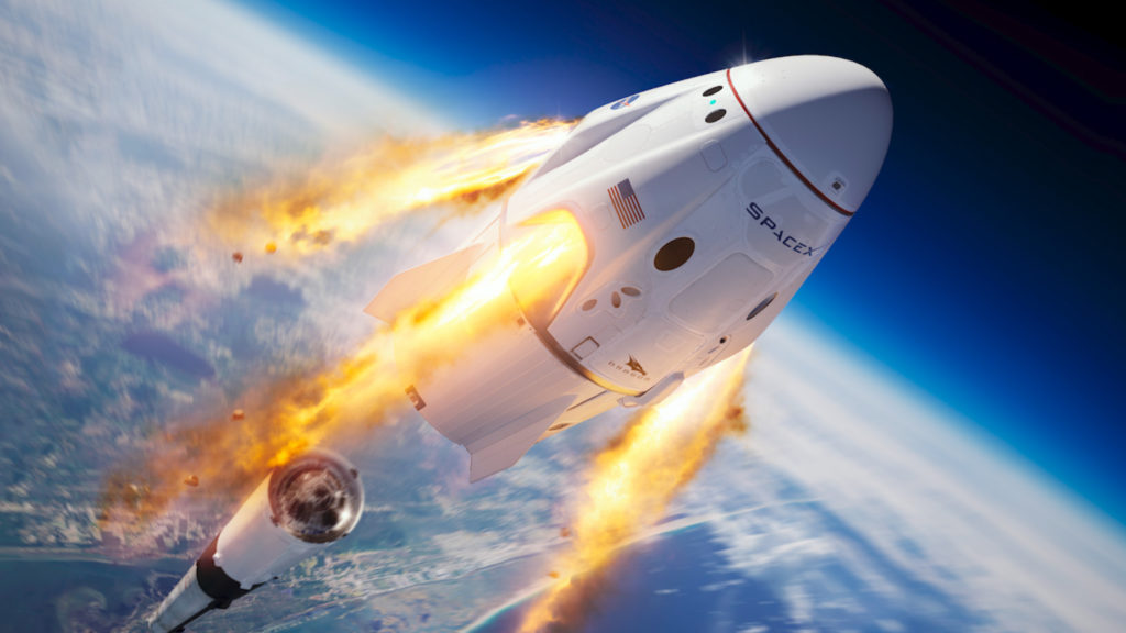 SpaceX rumbo a Marte