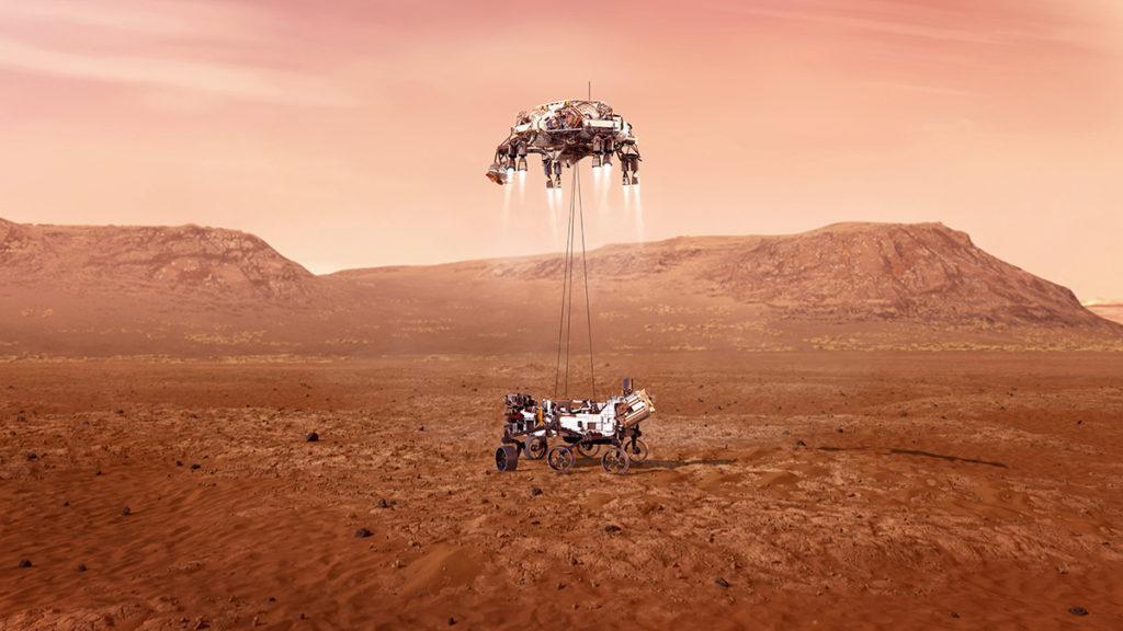 Perseverance, misión de la NASA en Marte