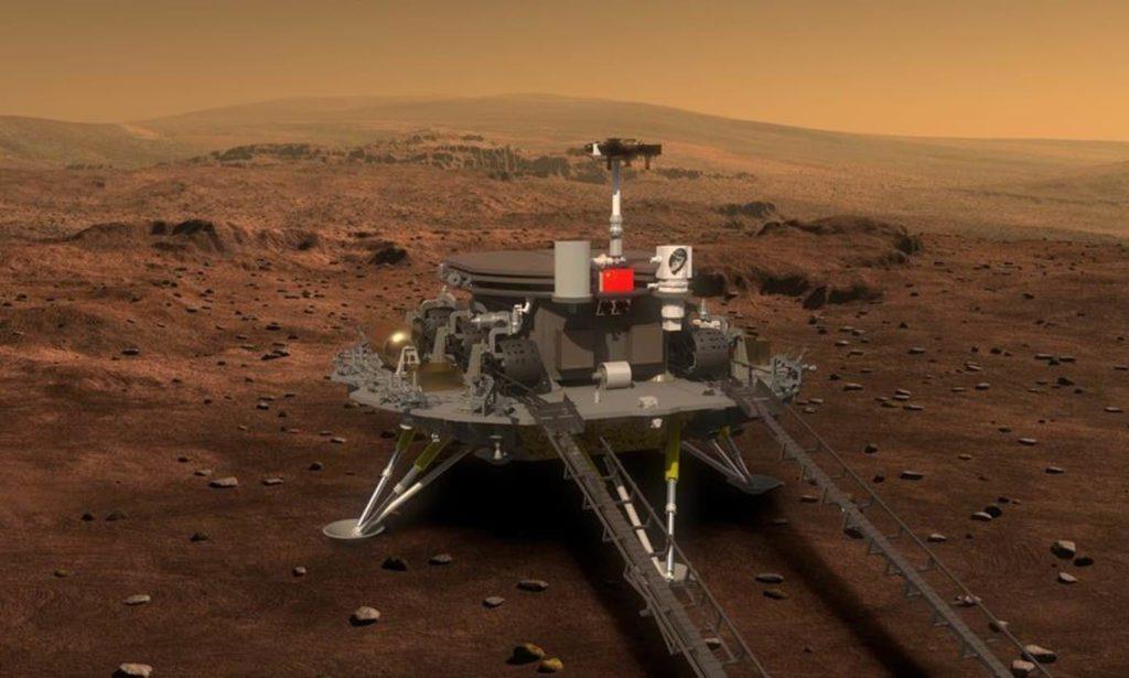 Tianwen 1 es la expedición china a Marte