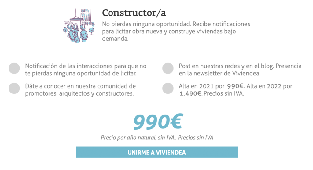 profesional constructor